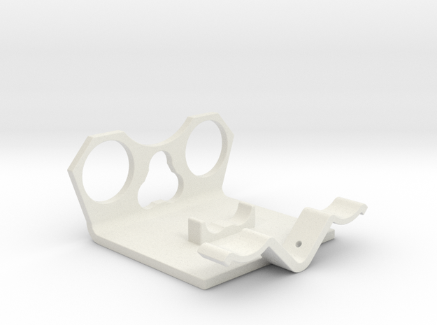 Power Cell Bracket #1 in White Natural Versatile Plastic