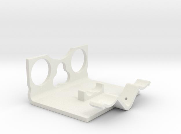 Power Cell Bracket #5 in White Natural Versatile Plastic