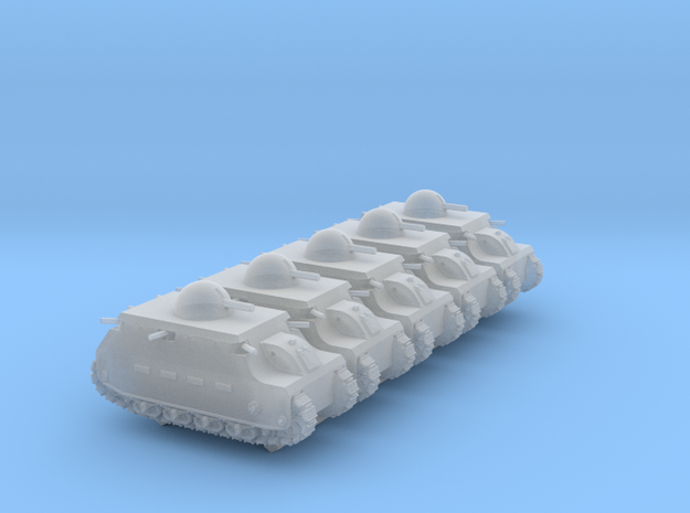 Fiat 2000 (6mm, 5-up) in Smooth Fine Detail Plastic