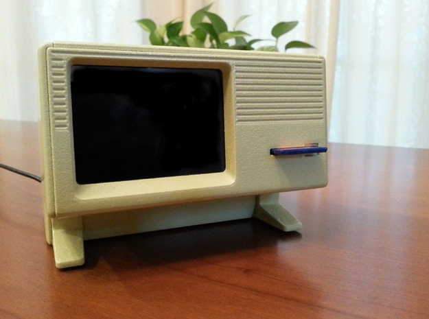 Apple Lisa 1 Raspberry Pi Case in White Natural Versatile Plastic