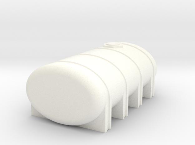 2350 Leg Tank in White Strong & Flexible Polished