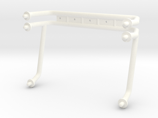 KYOSHO USA-1 ROLLBAR in White Processed Versatile Plastic