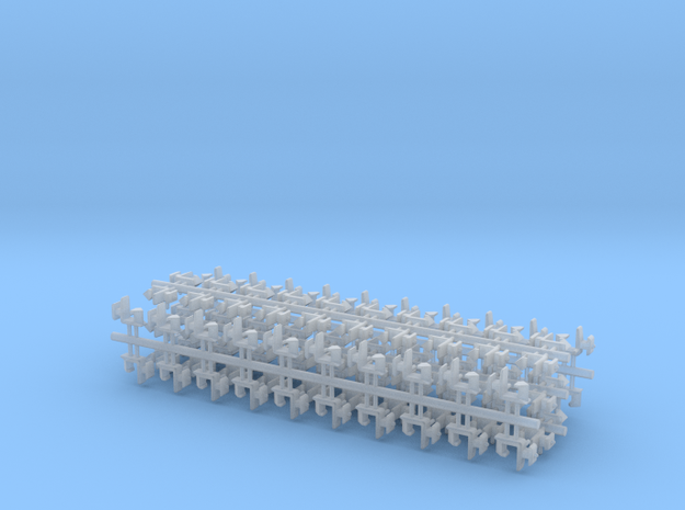 100 Rapido coupler 1.5mm shaft N Gauge 140316 in Frosted Ultra Detail