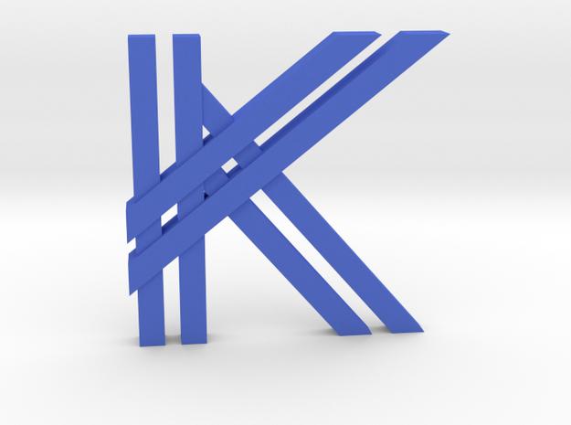 KK Logo 3d printed
