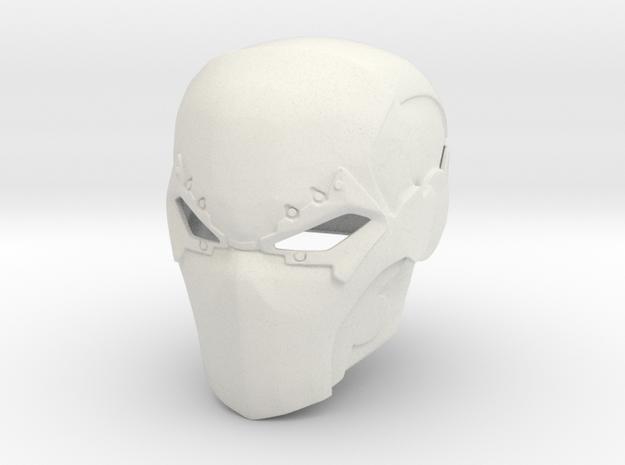 Deathstroke Injustice Helmet in White Natural Versatile Plastic