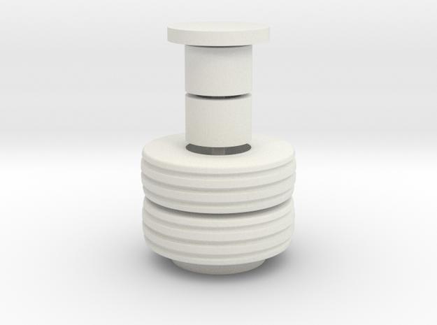 11L16 Set in White Natural Versatile Plastic