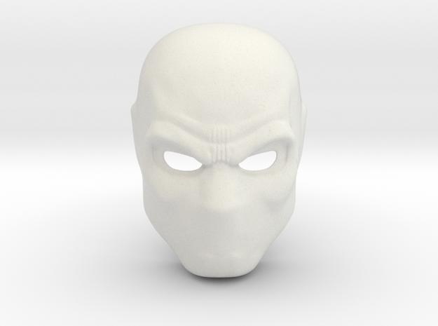 Deathstroke Arrow Season 1 Mask  in White Natural Versatile Plastic