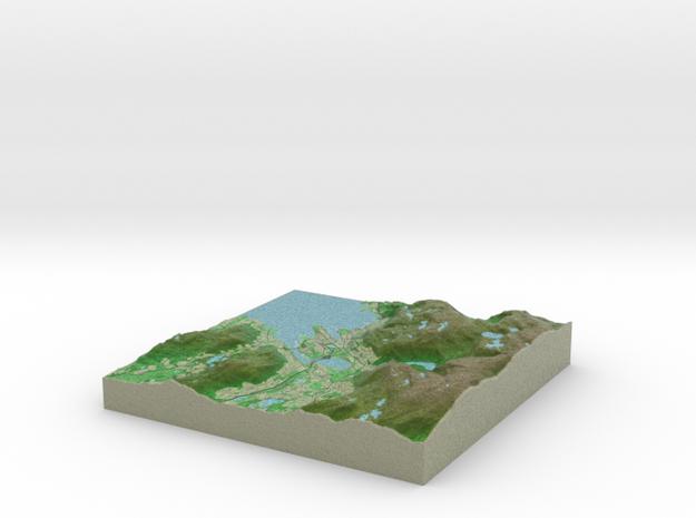 Terrafab generated model Wed Mar 16 2016 18:56:37  in Full Color Sandstone