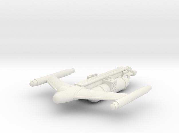 Civilian Light Tanker in White Natural Versatile Plastic