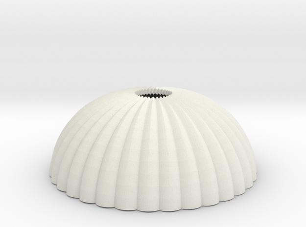 1/144 12mm scale army parachute para Fallschirm in White Natural Versatile Plastic