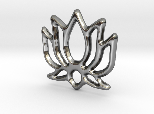 Lotus Pendant/Charm - 16mm