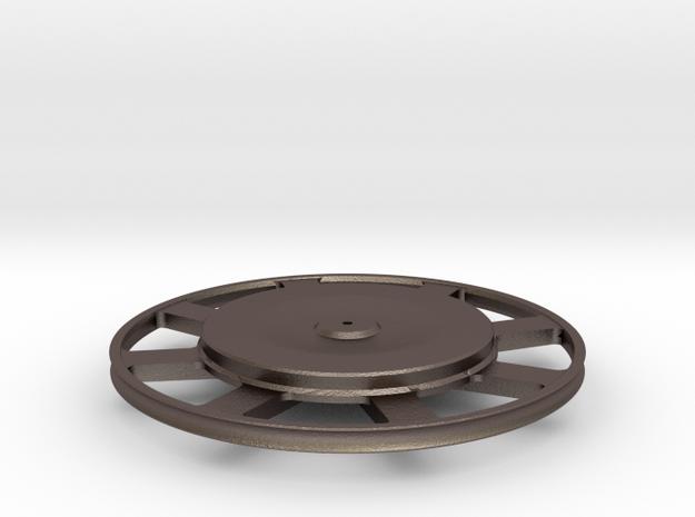 """Bugatti (26"""" Bicycle) Wheel, 1:8 Scale, 130124 3d printed"""