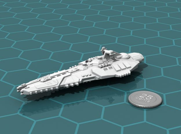 Stravok Kurr Command Ship in White Strong & Flexible