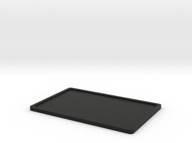 Licence plate holder rear D90 D110 RC 1:10 in Black Natural Versatile Plastic