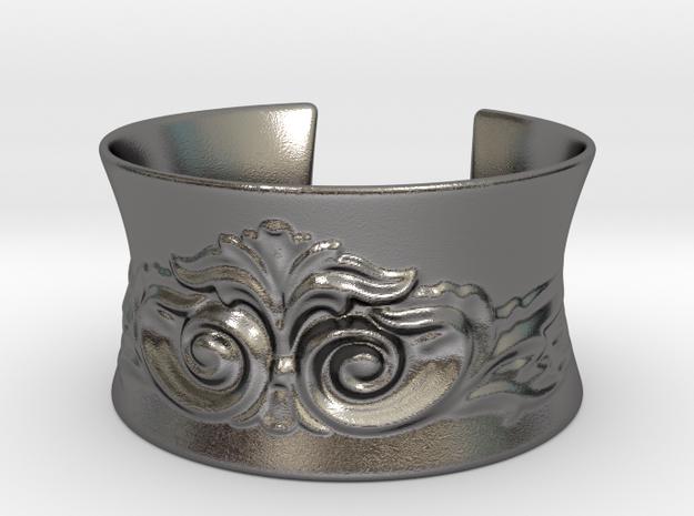 Classic bracelet - 67mm diameter in Polished Nickel Steel
