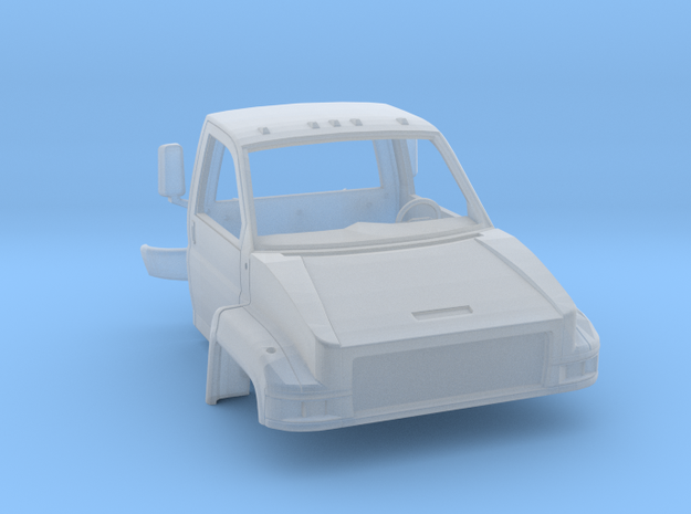 Gmc C5500 4x4 Single cab 1/50 in Smooth Fine Detail Plastic