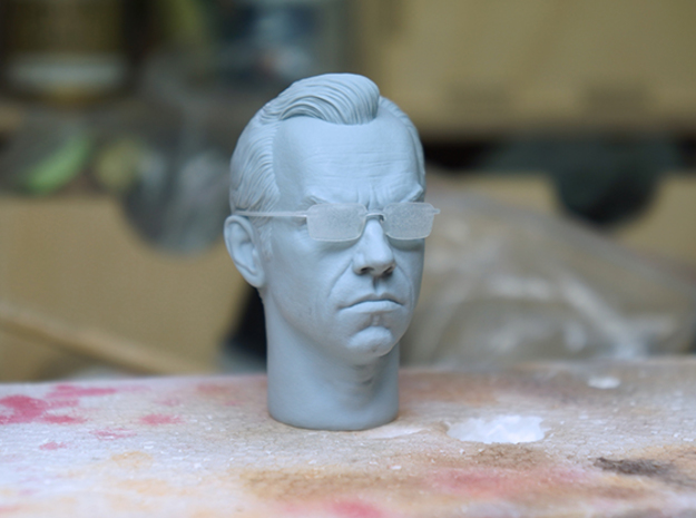 Agent smith 1/6 scale glasses in Frosted Extreme Detail