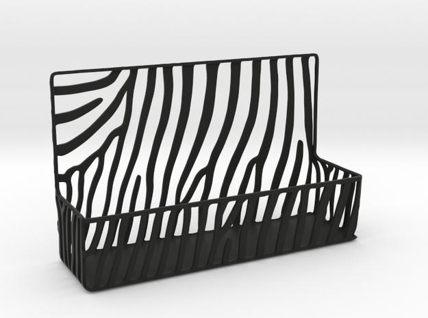 Zebra Business Card Holder