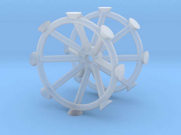 Antenna - Observatory Upper Row V0.2 (1/700) in Smoothest Fine Detail Plastic
