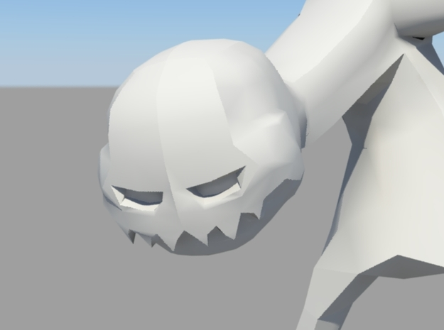iD Tech 3D Model Contest - 'Enderman' in White Strong & Flexible