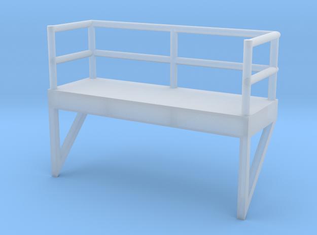 'N Scale' - 10' Ladder Platform in Smooth Fine Detail Plastic