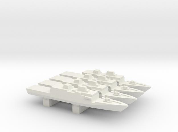 Comandanti-class OPV x 4, 1/3000 in White Strong & Flexible