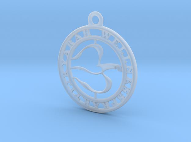 Welnesspraktijkyarah Buiten Ring in Smooth Fine Detail Plastic