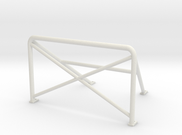 Rollbar 180x110 in White Strong & Flexible