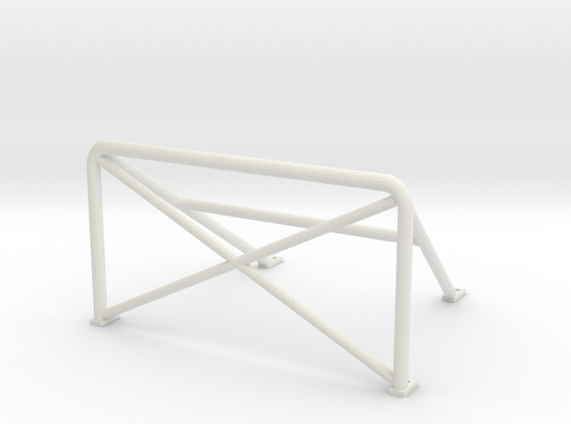 Rollbar 180x100 in White Strong & Flexible
