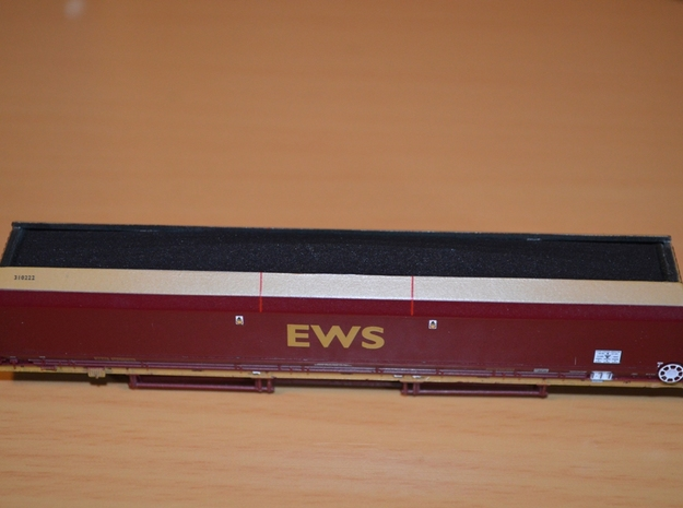 N Scale / N Gauge (1:148) - HTA Hopper Coal Loads  in White Natural Versatile Plastic