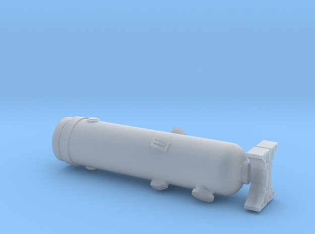 N Scale Pressure Vessel Load in Smooth Fine Detail Plastic