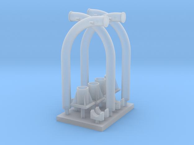 1:96 scale Ship Yard Arm - set of 4