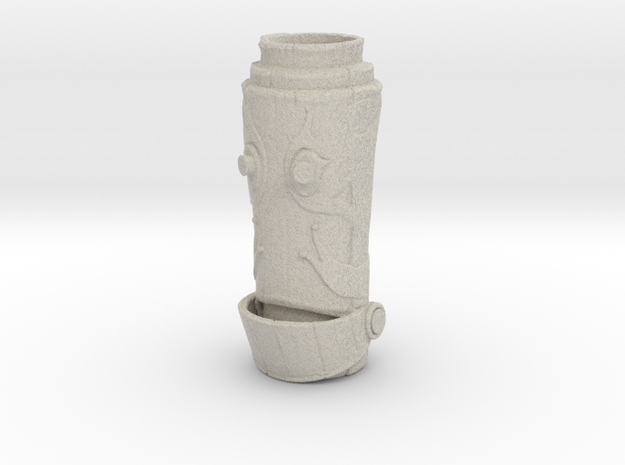 HELPeR Tiki Mug 3d printed