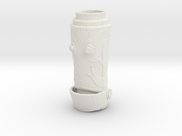 HELPeR Tiki Mug in White Natural Versatile Plastic