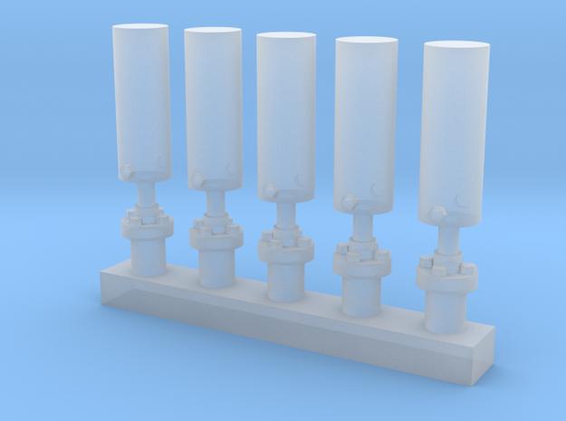 1:29 Scale Firecracker Antenna in Smooth Fine Detail Plastic