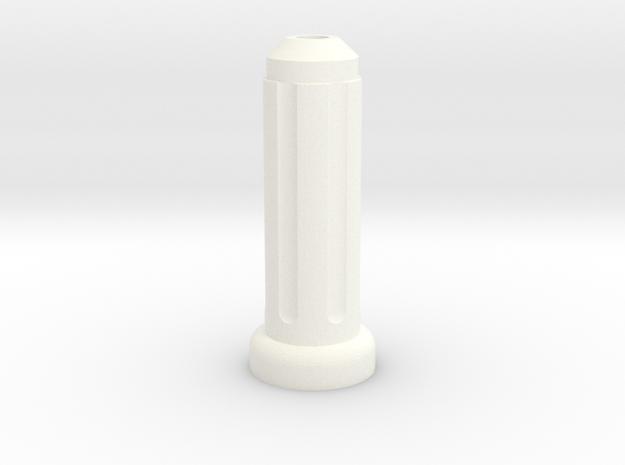 LGA & 16 Mm Camera Support in White Processed Versatile Plastic