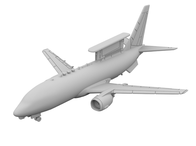 1:200 - 737 AEW&C [x1][S] in Smooth Fine Detail Plastic