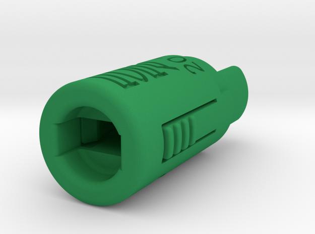 Piston Tool 2012 in Green Processed Versatile Plastic
