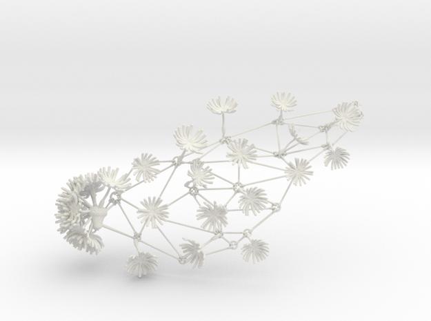 Dandelion Necklace 3d printed