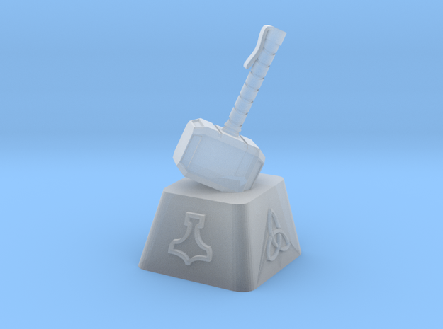 Mjolnir Cherry MX Keycap in Smooth Fine Detail Plastic