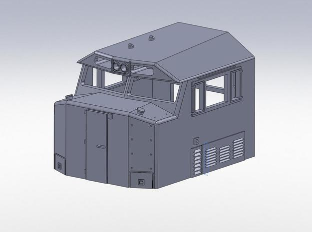 N scale NS 6900 Crescent Cab in Smooth Fine Detail Plastic