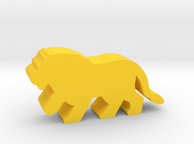 Game Piece, Lion Walking