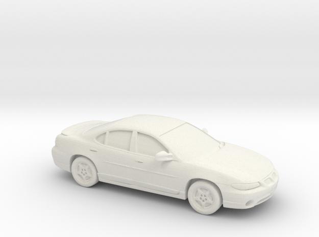 1/24 1997 Pontiac Grand Prix Sedan in White Natural Versatile Plastic