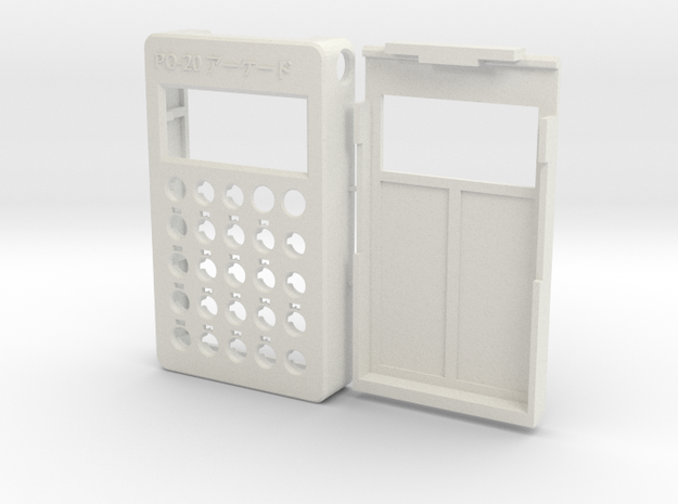 PO-20 case in White Natural Versatile Plastic