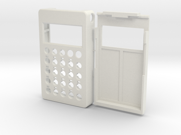 PO case in White Natural Versatile Plastic