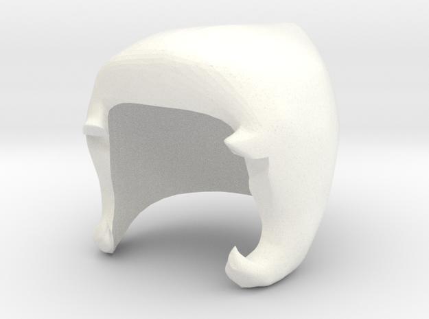 Custom Pearl Inspired Lego in White Processed Versatile Plastic