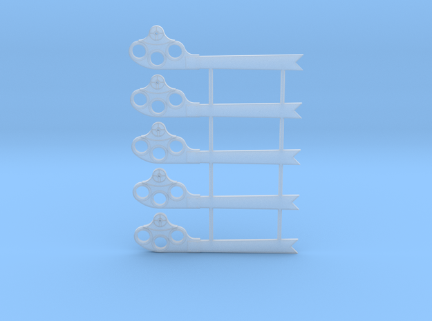 S Scale GRS Style A Fishtail Semaphore in Smooth Fine Detail Plastic