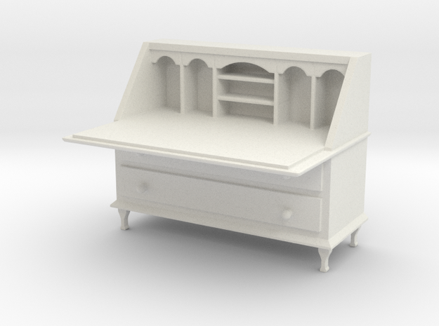 Bureau in White Natural Versatile Plastic