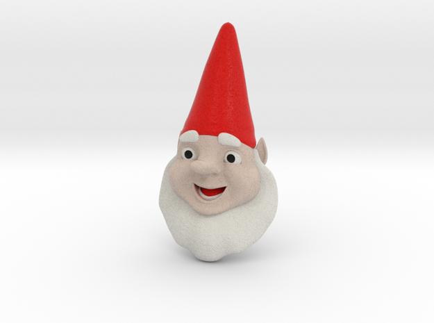 GnomeChild Head in Full Color Sandstone