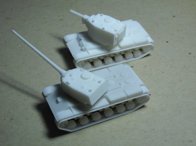 1/100 SIU-13 3d printed Heavy attackers at long and short ranges: the SIU-13 and SSU-12-150 (KV-2)